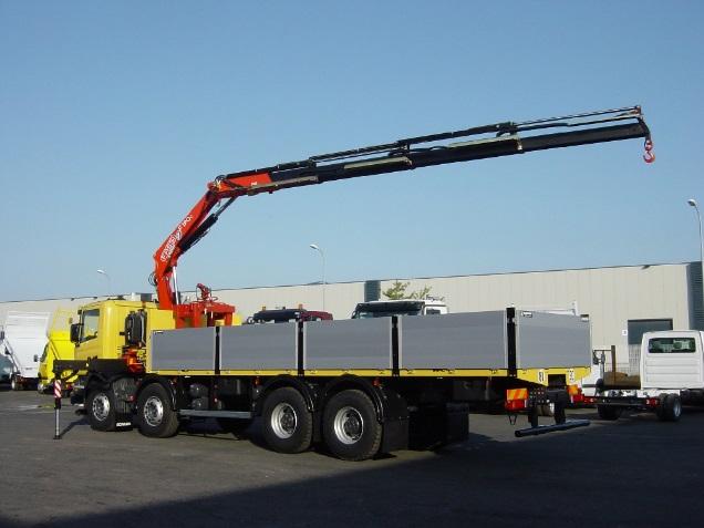 Conducteur poids lourd btp forsapre for Piscine mobile sur camion